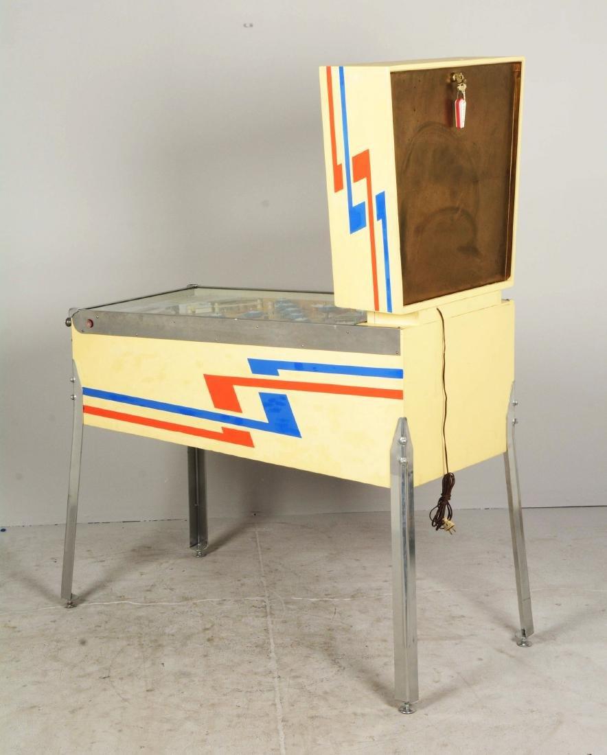 5¢ Gottlieb's Slick Chick Pinball Machine. - 2