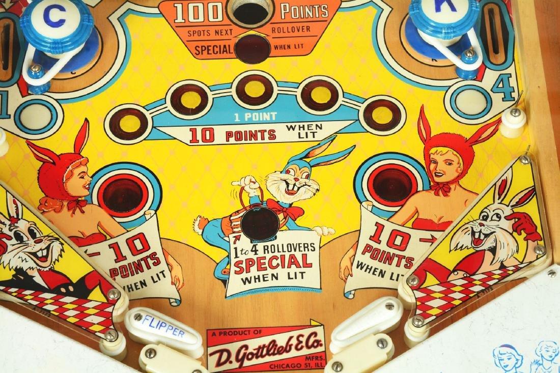 5¢ Gottlieb's Slick Chick Pinball Machine. - 8