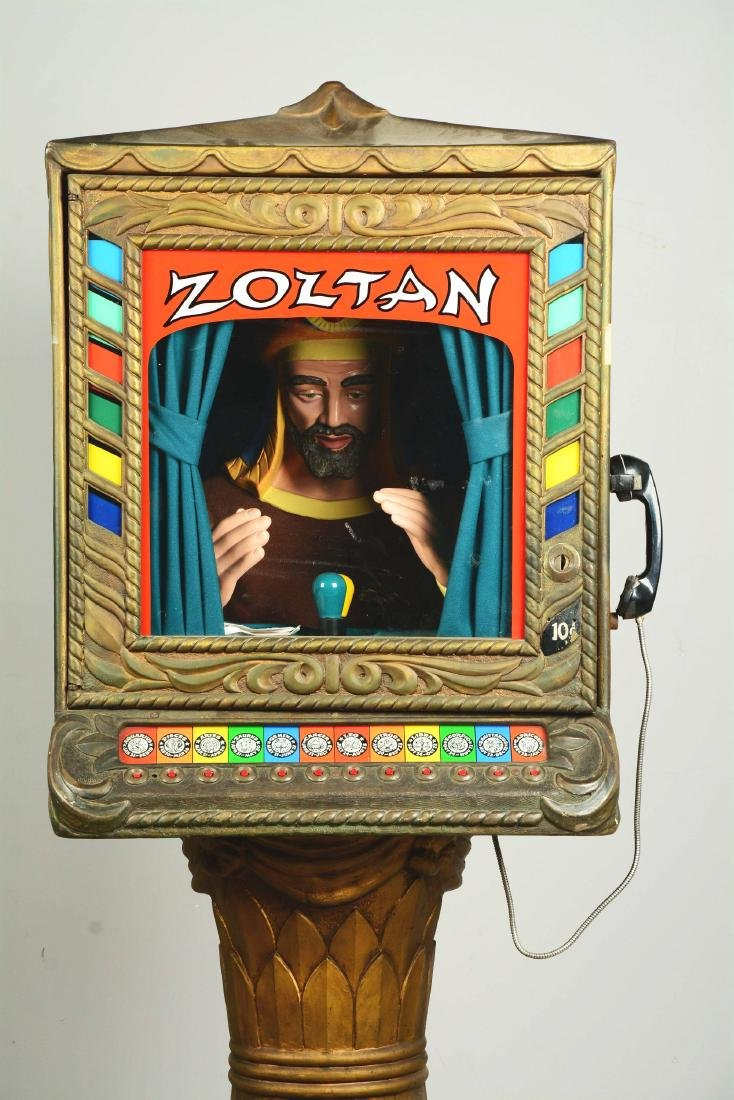 10¢ Prophetron Inc. Zoltan Horoscope Fortune Teller. - 4