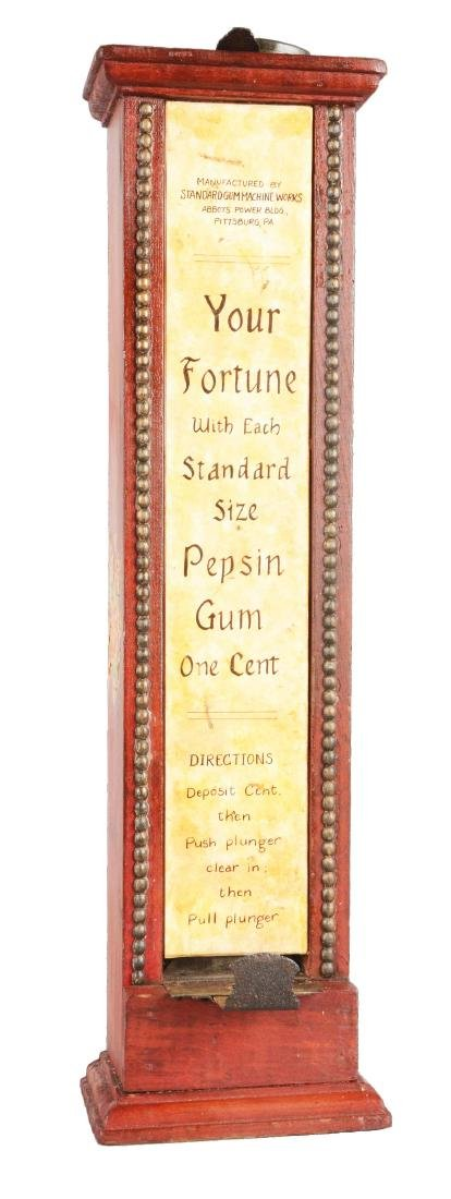1¢ Standard Gum Machine Works Pepsin Gum Vending