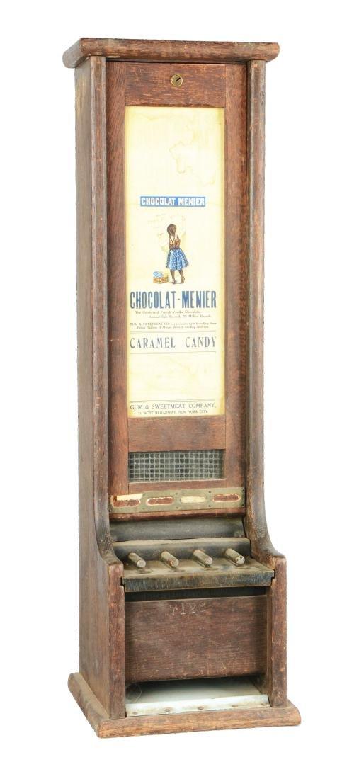 1¢ Champion Vending Machine Co. Gotham Gum Vendor.