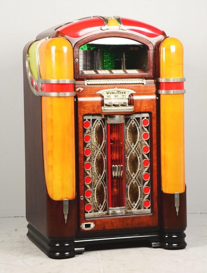 Multi-Coin Wurlitzer Model 800 Phonograph Jukebox. - 2