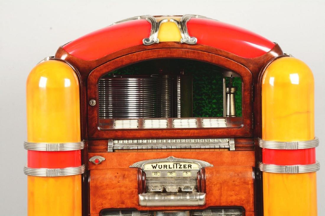 Multi-Coin Wurlitzer Model 800 Phonograph Jukebox. - 4