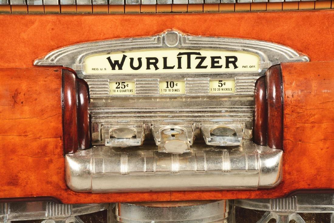 Multi-Coin Wurlitzer Model 800 Phonograph Jukebox. - 5