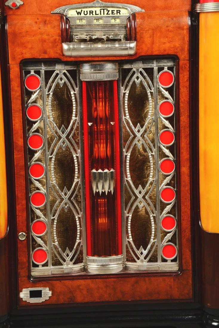 Multi-Coin Wurlitzer Model 800 Phonograph Jukebox. - 6