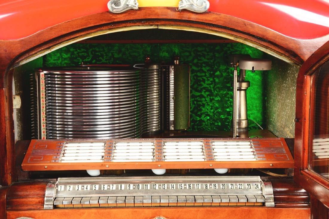Multi-Coin Wurlitzer Model 800 Phonograph Jukebox. - 7