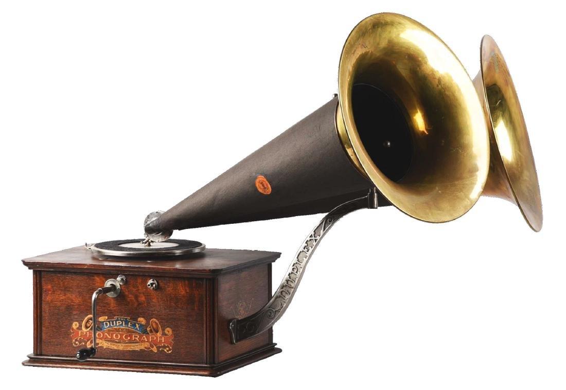 Kalamazoo Duplex Phonograph.