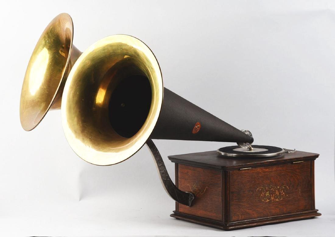 Kalamazoo Duplex Phonograph. - 2