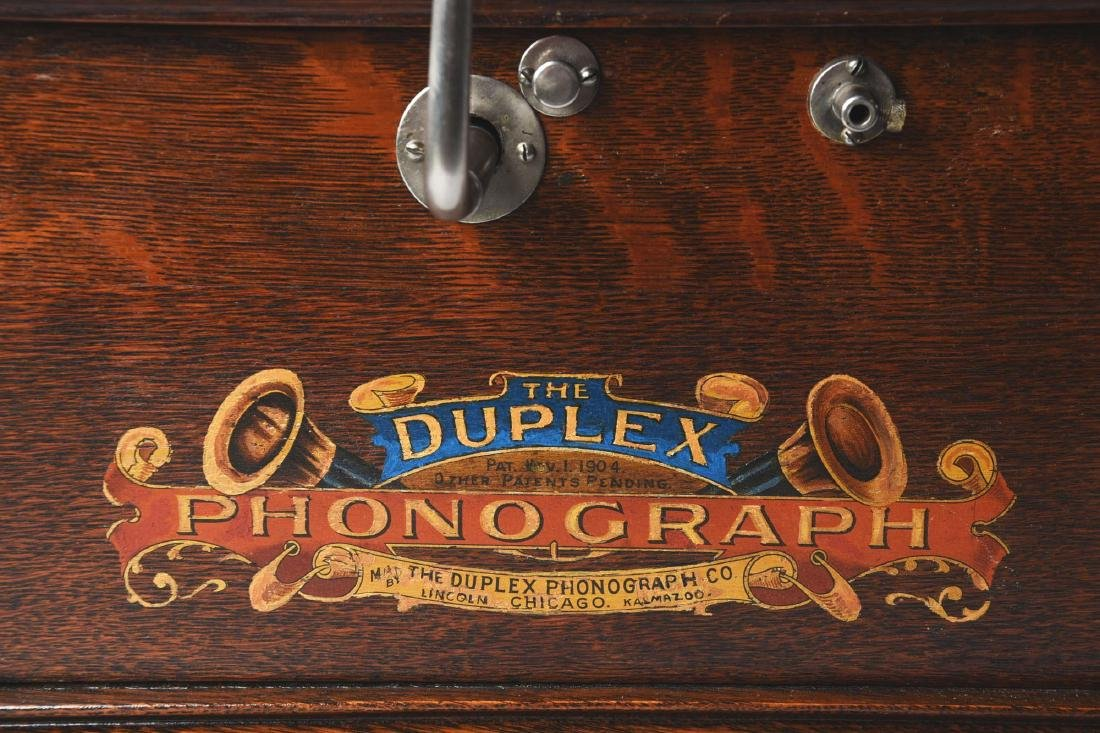 Kalamazoo Duplex Phonograph. - 4