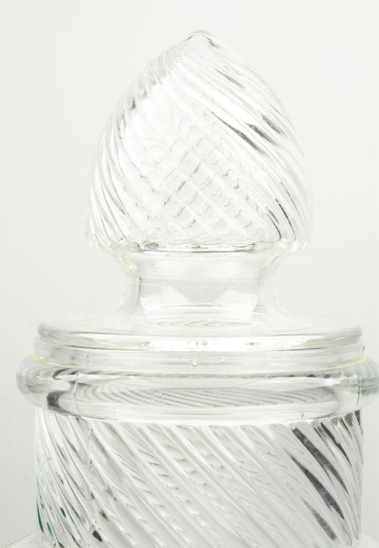 Large Columbia Pear Jar Candy Container. - 3