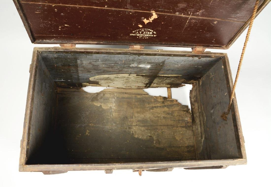 Large Wells Fargo Packing Trunk. - 14