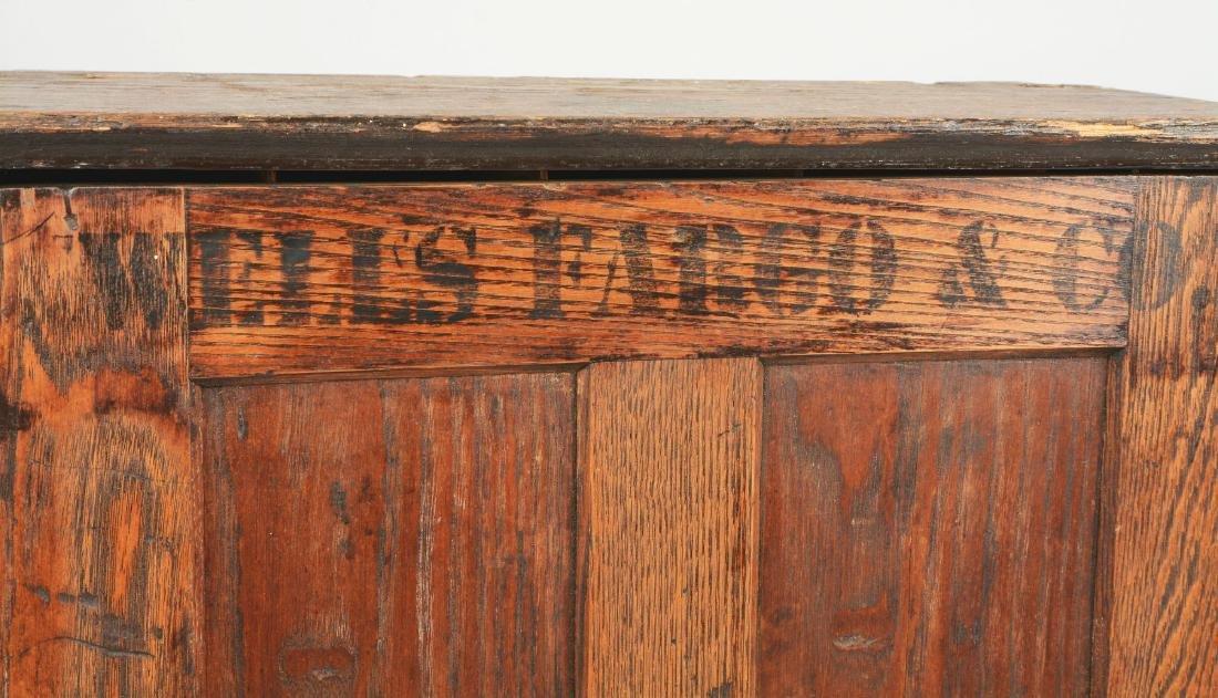 Oak Wells Fargo Stationary Cabinet. - 3
