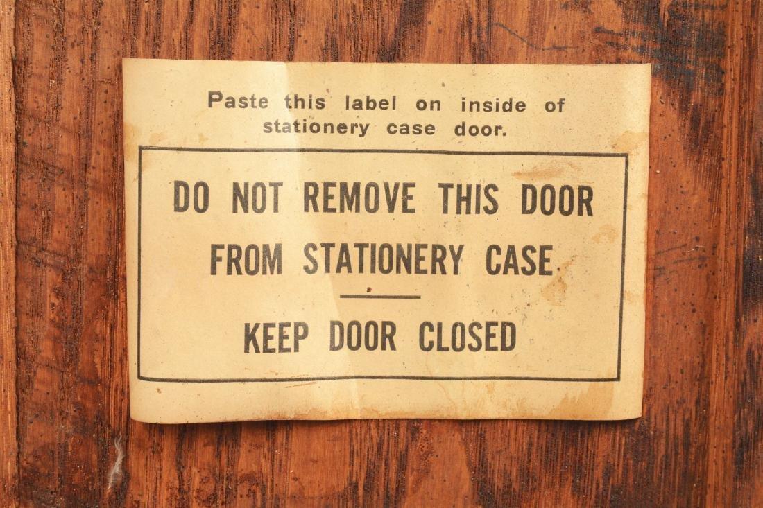 Oak Wells Fargo Stationary Cabinet. - 7