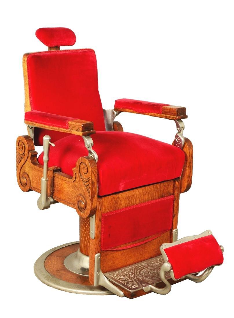 Theo A. Kochs Barber Chair.