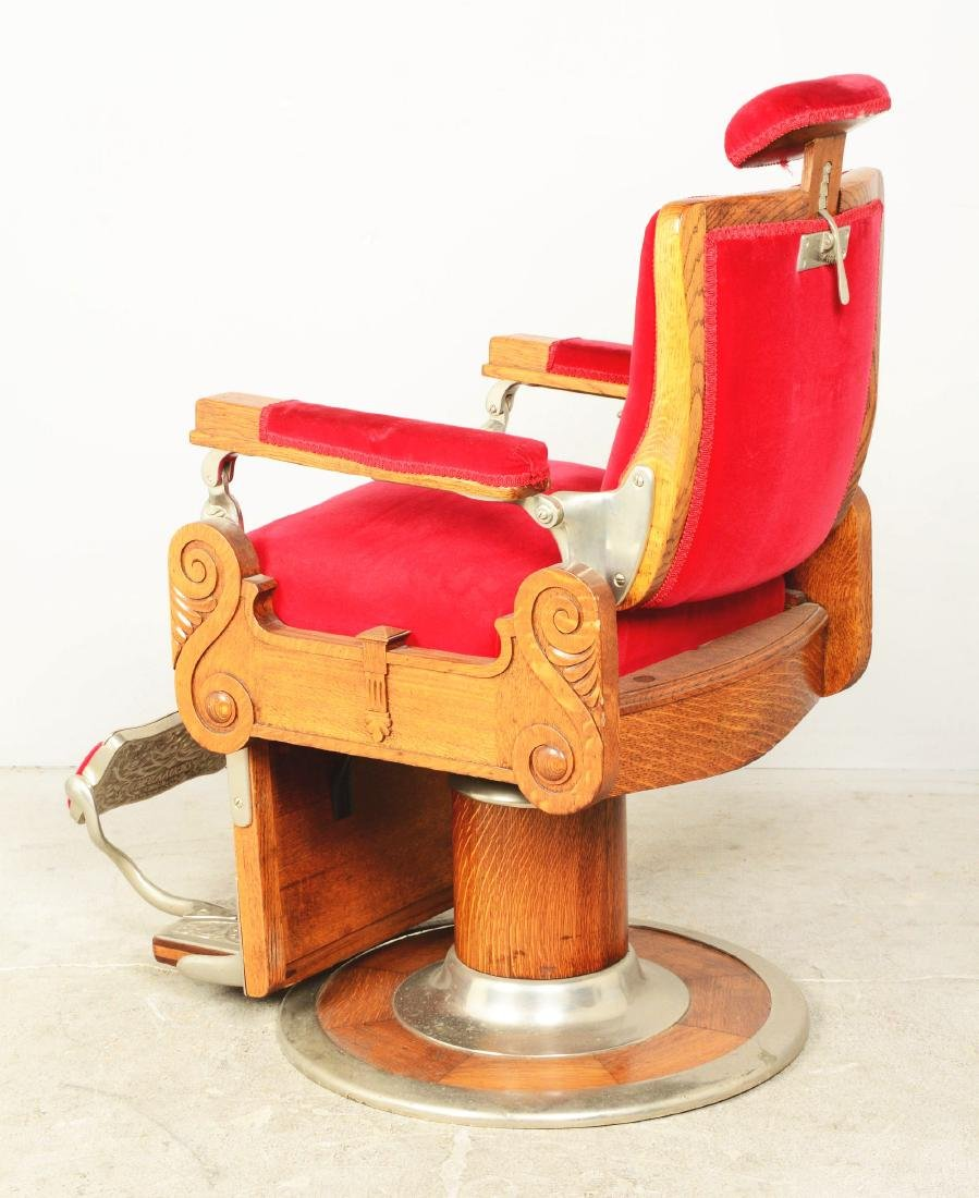 Theo A. Kochs Barber Chair. - 3