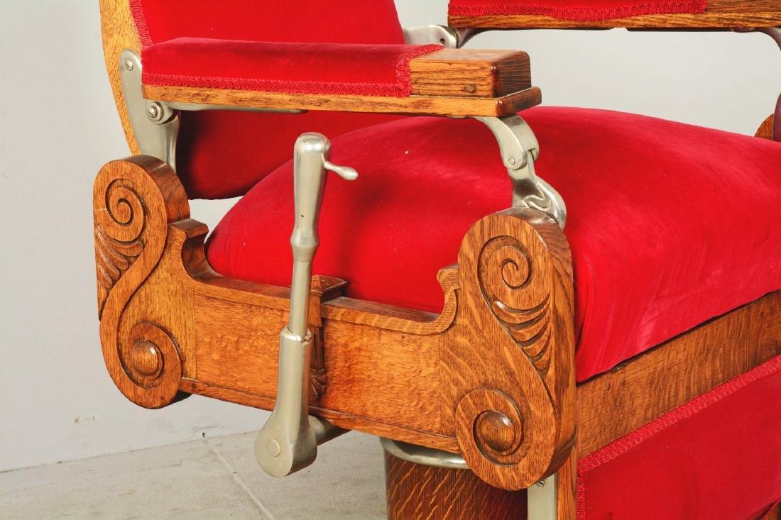 Theo A. Kochs Barber Chair. - 4