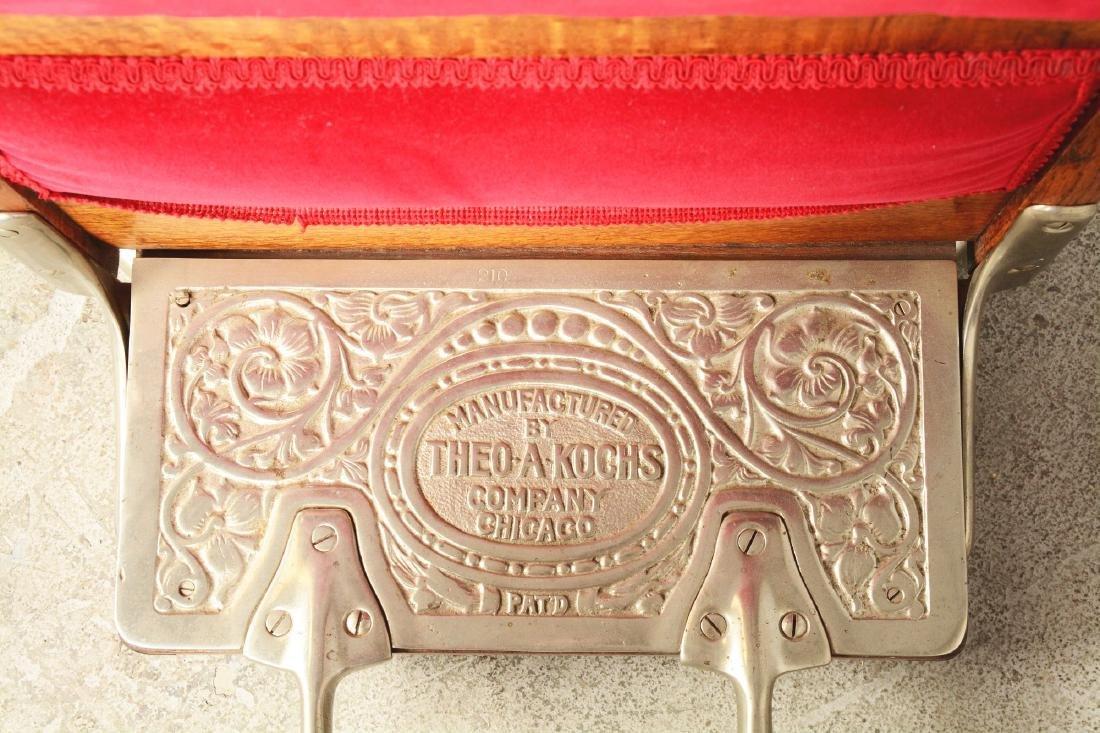Theo A. Kochs Barber Chair. - 5