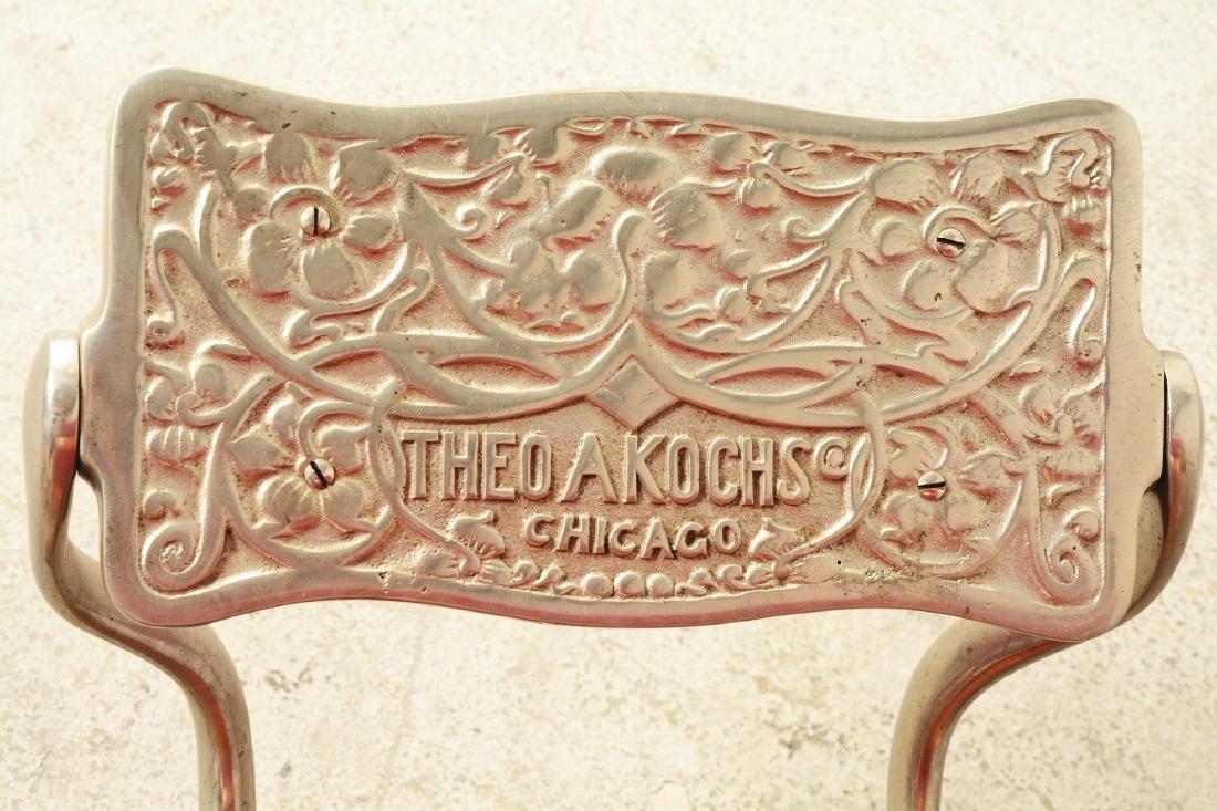 Theo A. Kochs Barber Chair. - 8