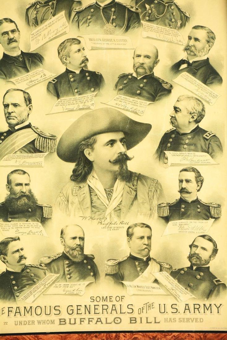 Buffalo Bill Lithograph. - 3