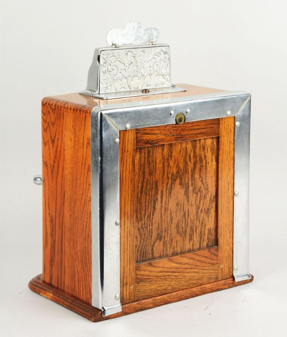 **5¢ Caille Ben Hur Counter Wheel Slot Machine. - 3