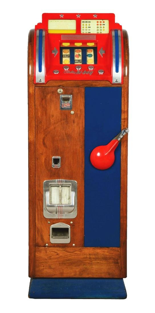 **5¢ Bally Hi-Boy Console Slot Machine.