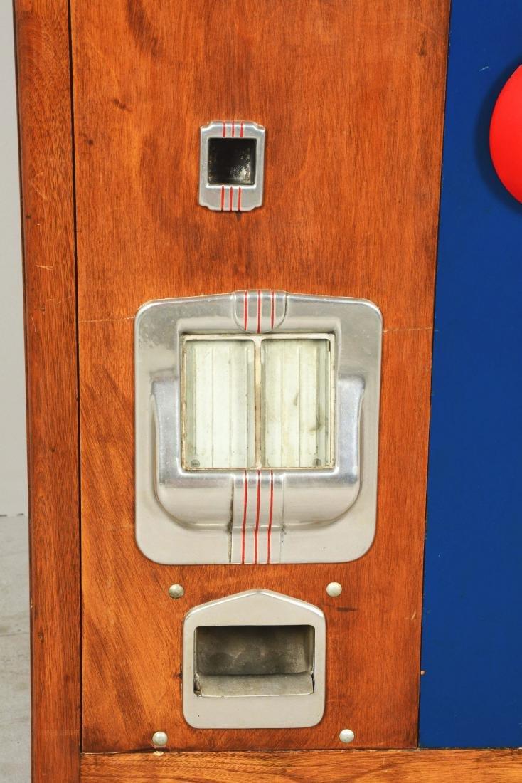 **5¢ Bally Hi-Boy Console Slot Machine. - 6