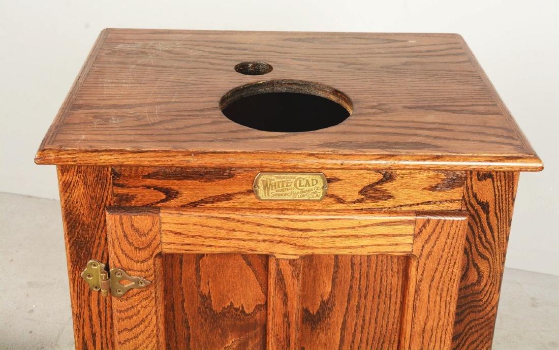 Oak Cabinet Slot Machine Stand. - 4