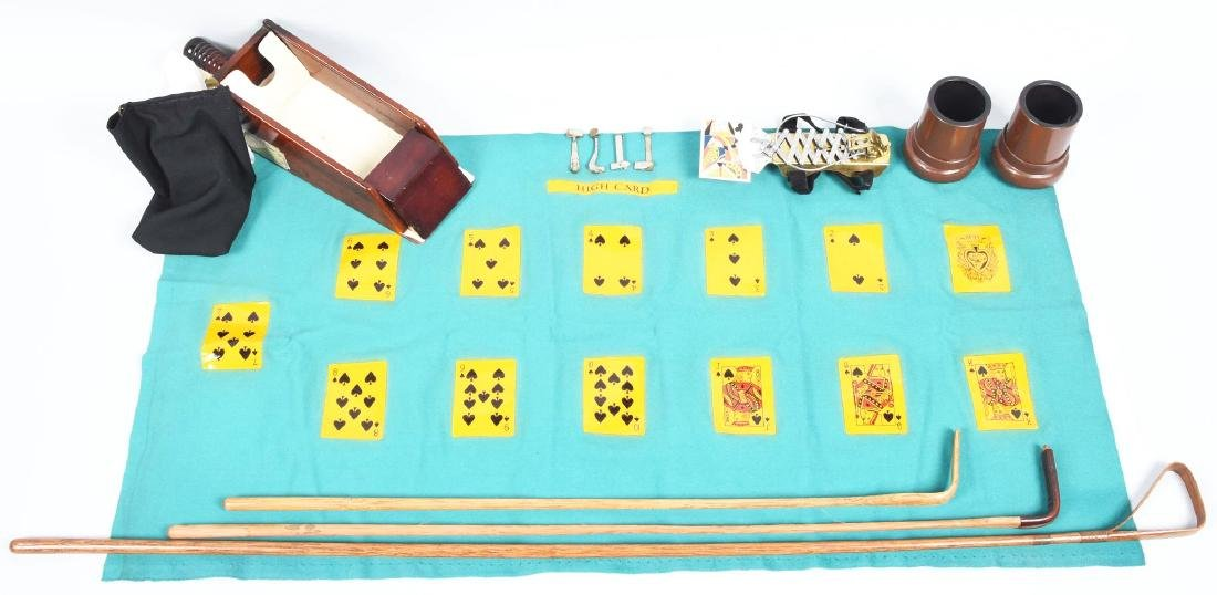 Lot Of 13: Cheating Devices And Gambling Items.