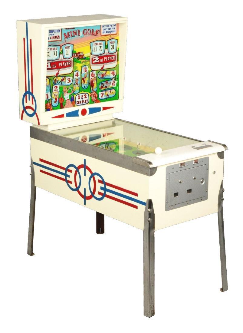 10¢ and 25¢ Williams Mini Golf Arcade Game.