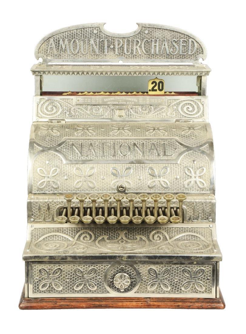 Nickel Plated National Cash Register Model 13.
