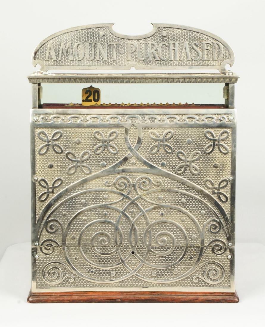 Nickel Plated National Cash Register Model 13. - 2