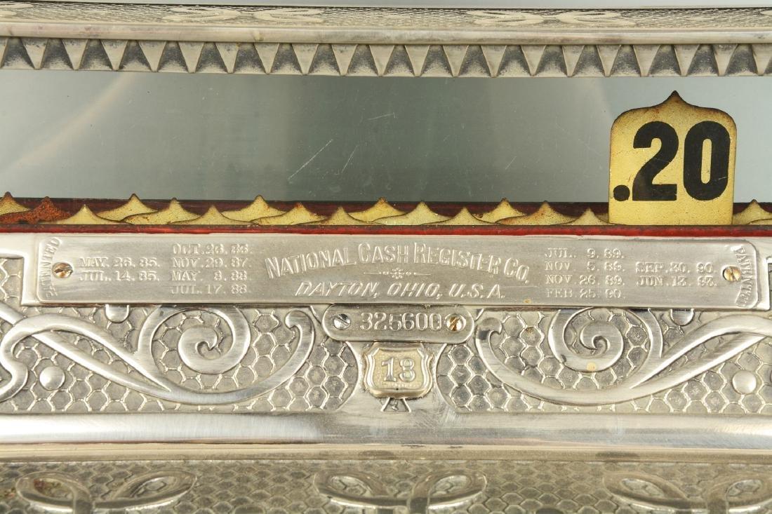 Nickel Plated National Cash Register Model 13. - 3