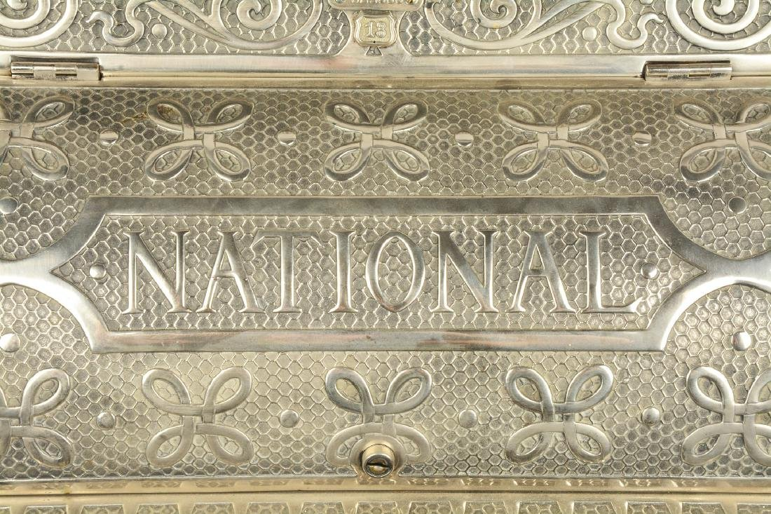 Nickel Plated National Cash Register Model 13. - 4