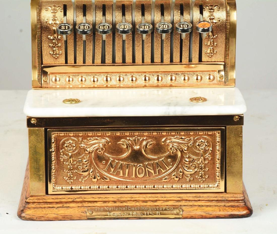 Brass National Cash Register Candy Store Register. - 4