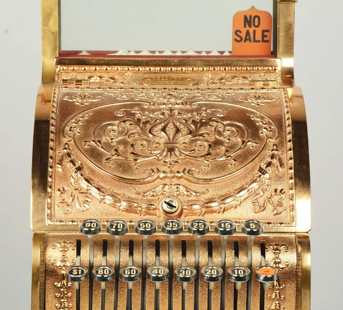 Brass National Cash Register Candy Store Register. - 5