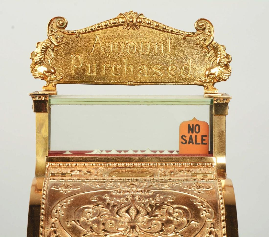 Brass National Cash Register Candy Store Register. - 6