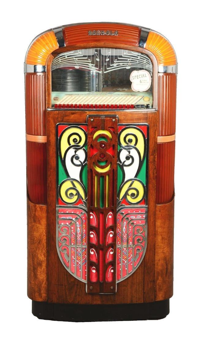 Multi-Coin Rock-Ola 1422 Jukebox.