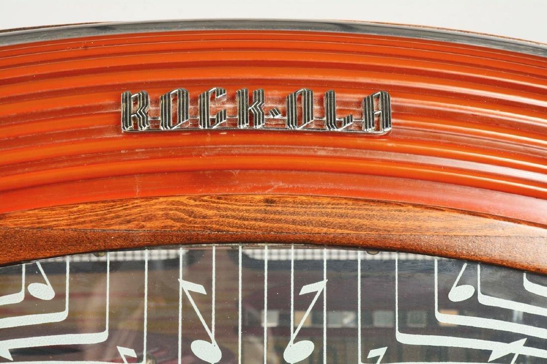 Multi-Coin Rock-Ola 1422 Jukebox. - 7