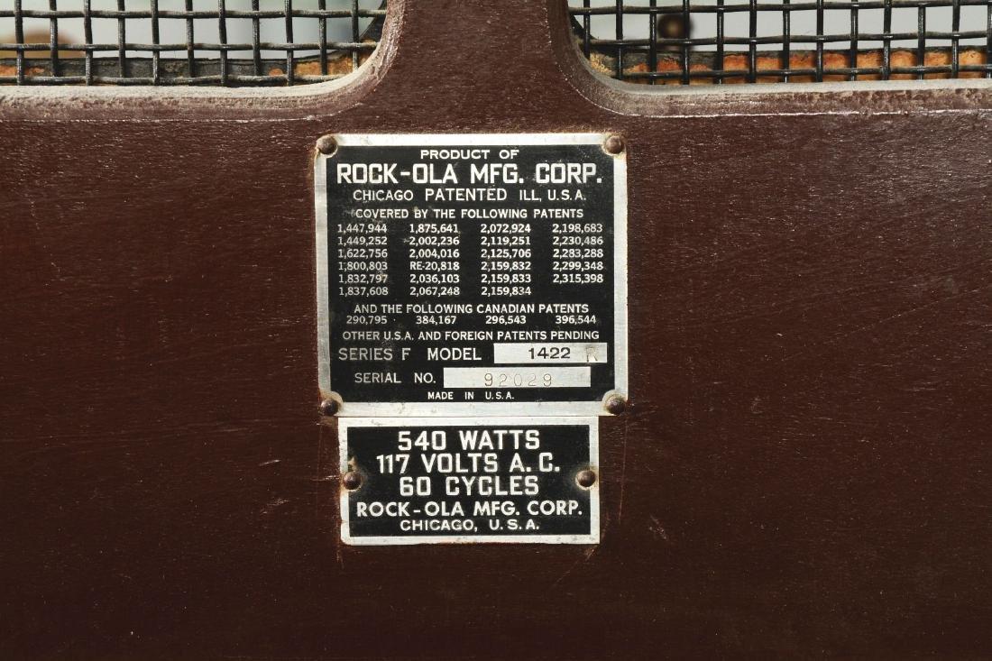 Multi-Coin Rock-Ola 1422 Jukebox. - 8