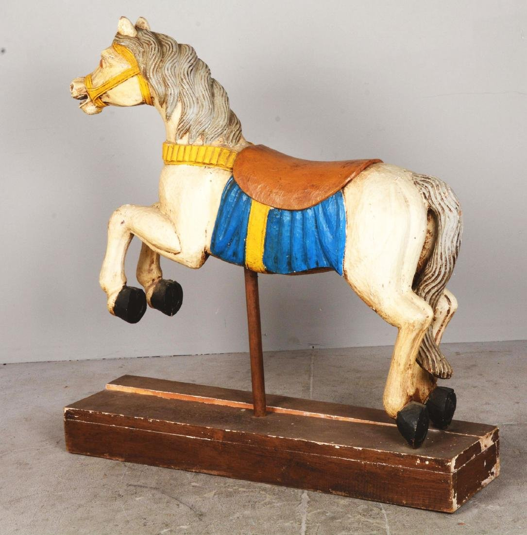 Wooden Carousel Horse. - 2