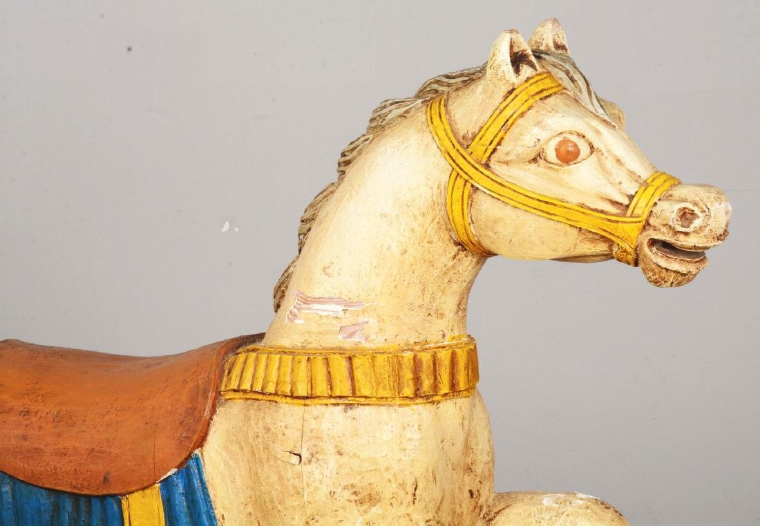 Wooden Carousel Horse. - 3