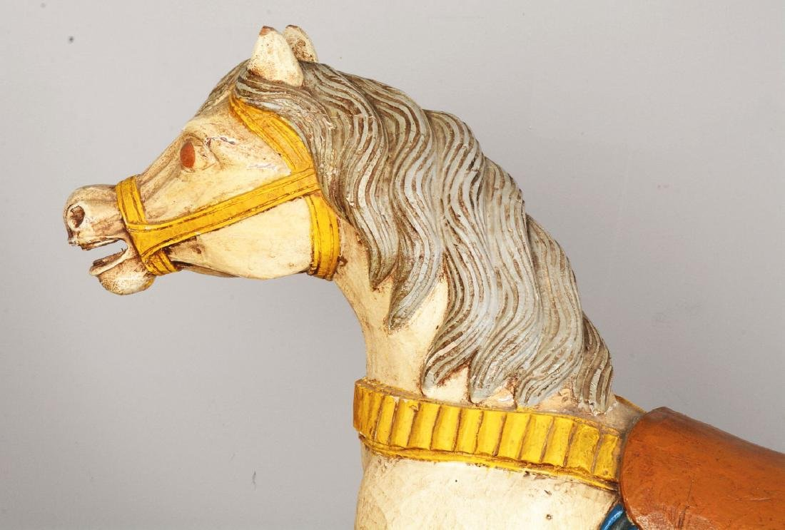 Wooden Carousel Horse. - 4