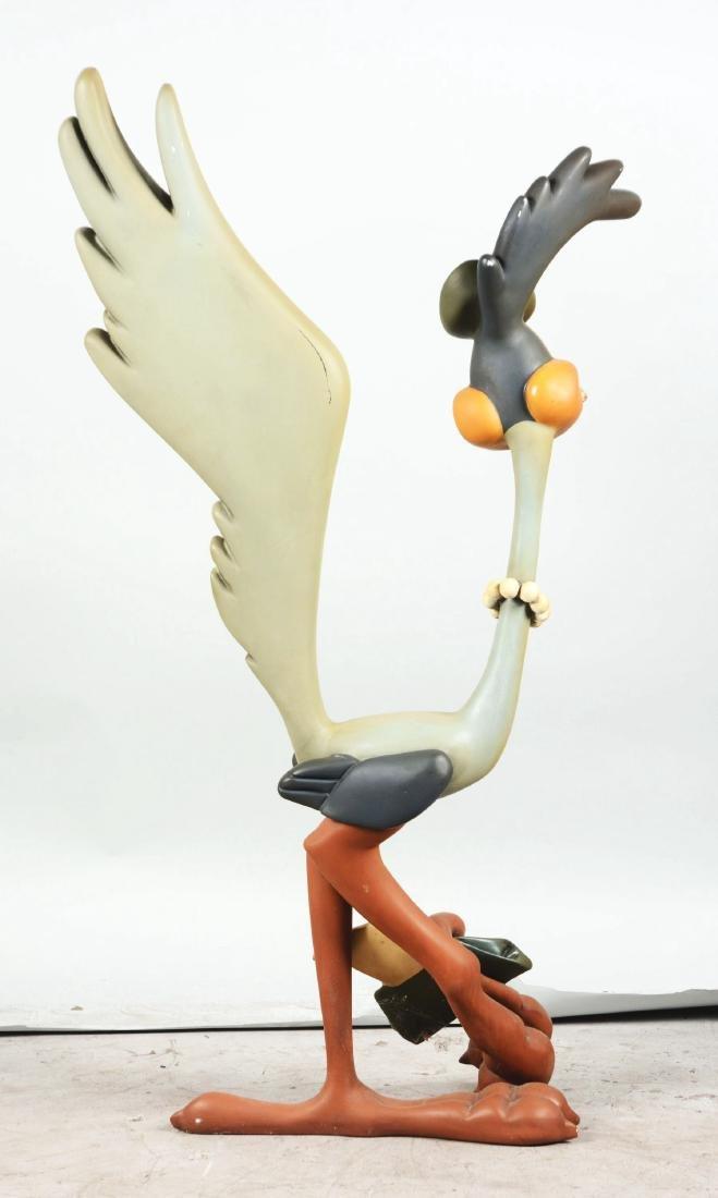 Mrs. Roadrunner Character Statue. - 3