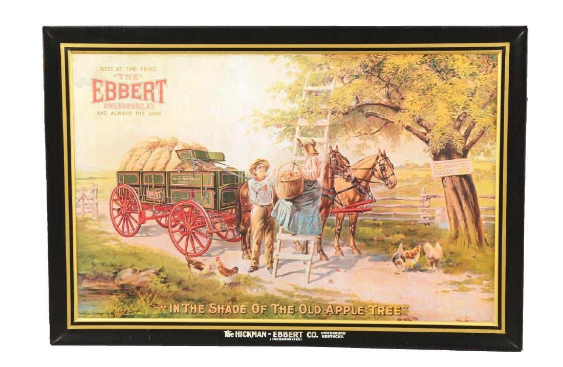 Hickman-Ebbert Co. Advertising Sign.
