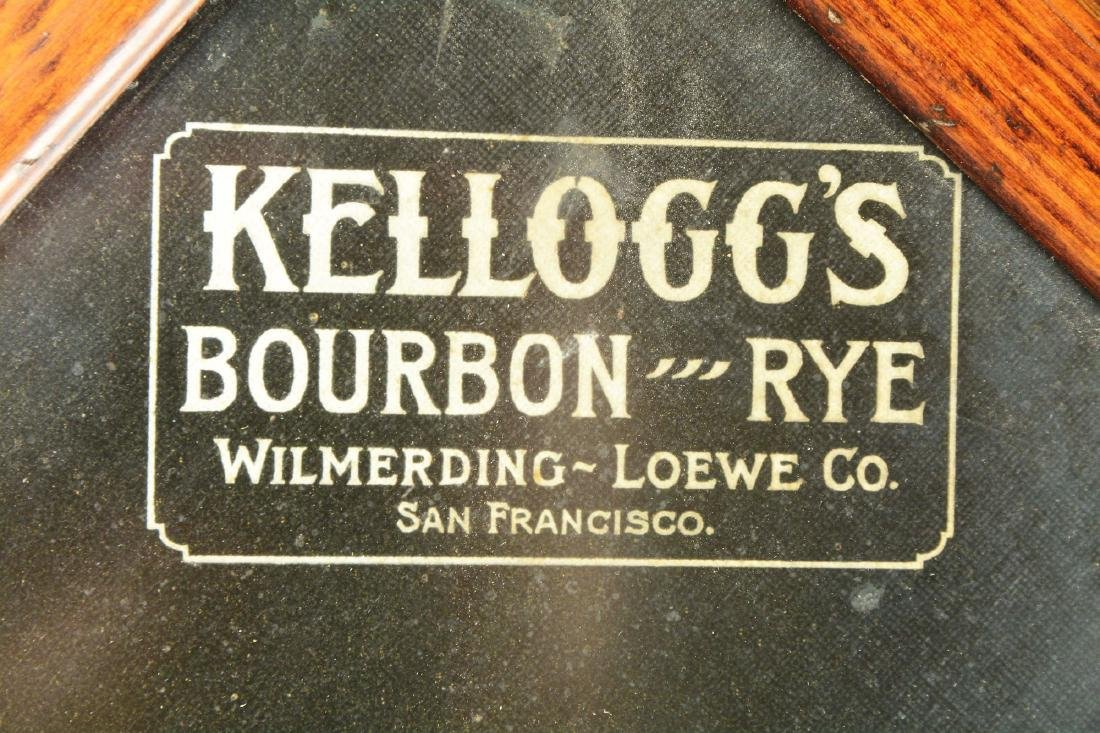 Framed Asti Lithograph For Kellogg's Bourbon And Rye. - 5