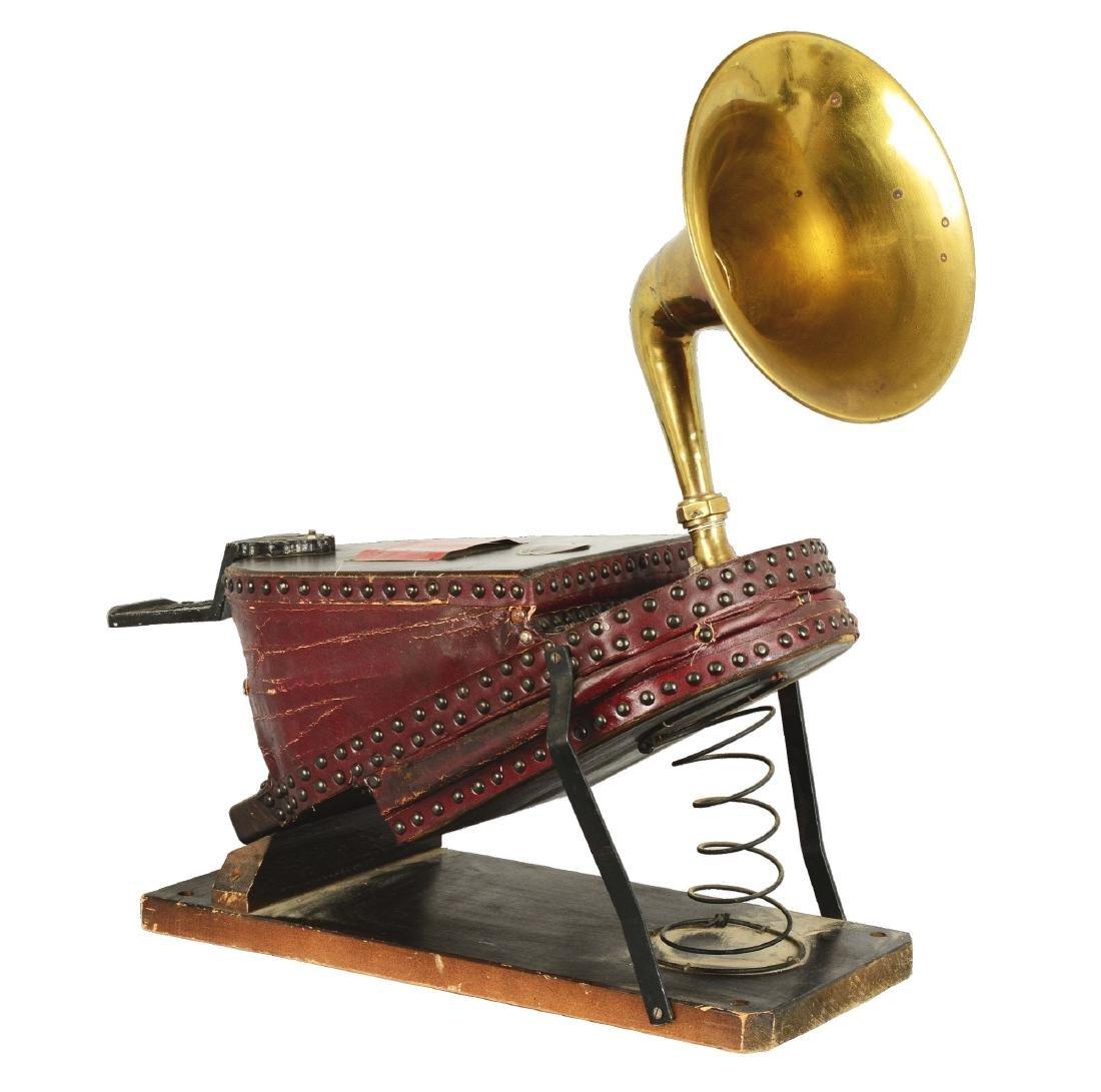 Siebe Gorman & Co. Ltd. Bellows Fire Horn.
