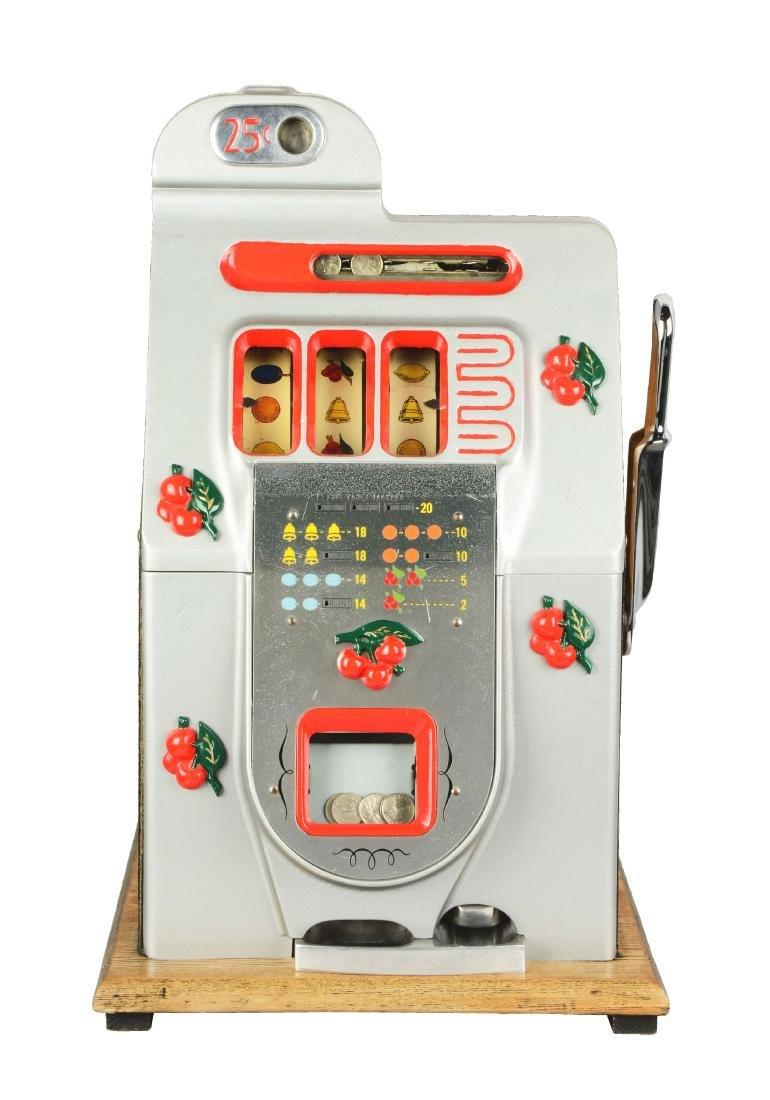 **25¢ Mills Black Cherry Slot Machine