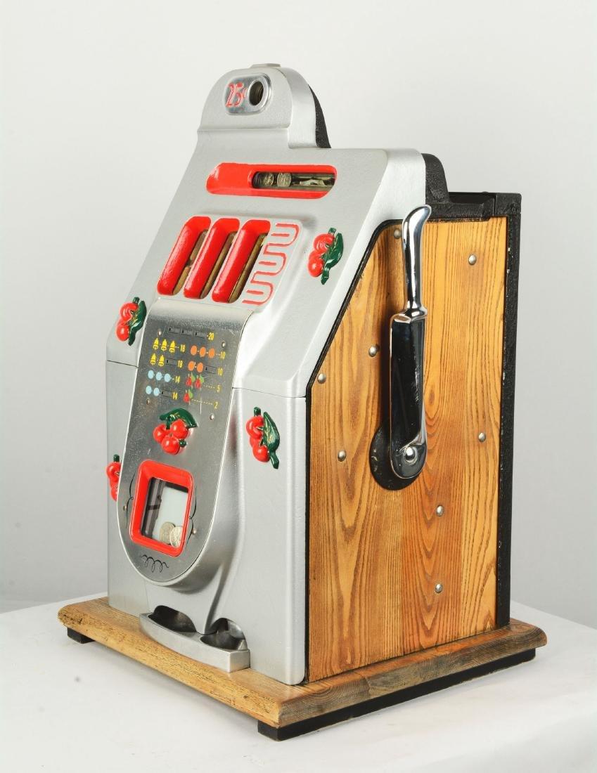 **25¢ Mills Black Cherry Slot Machine - 2