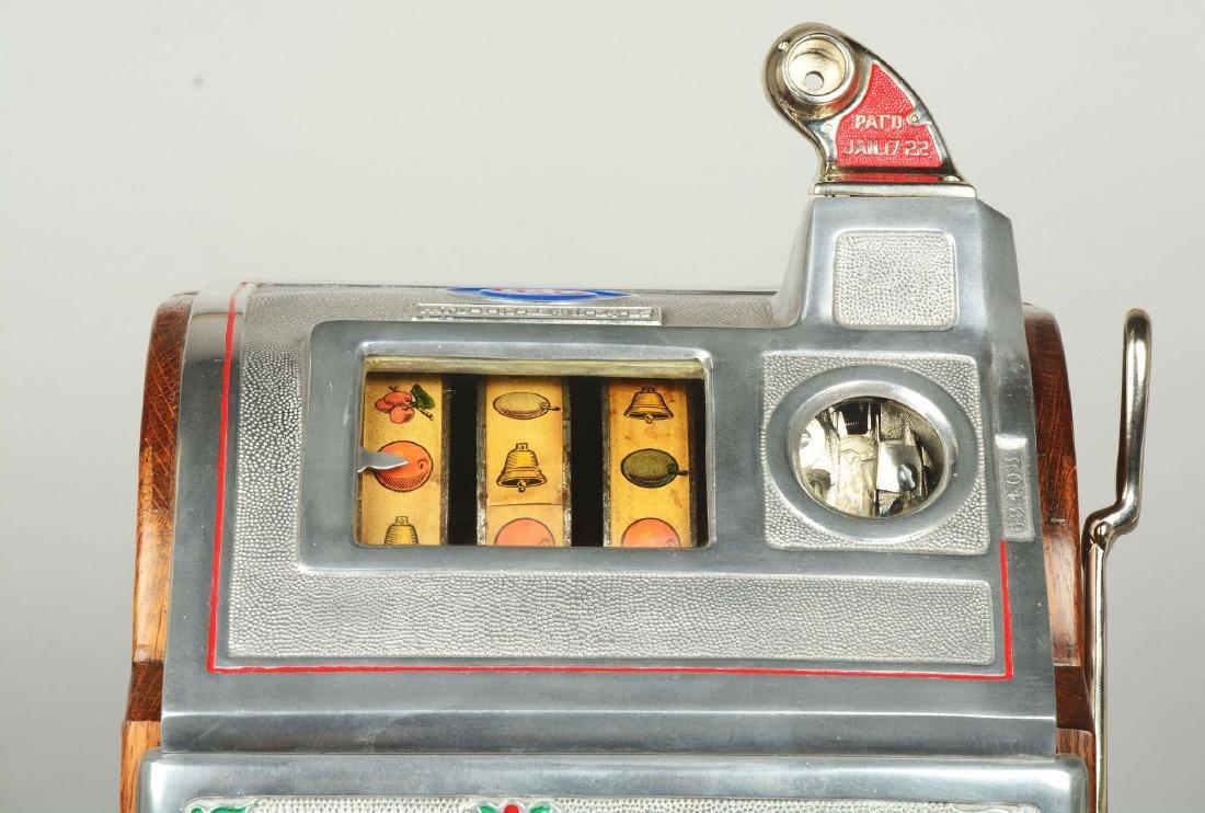 **5¢ O.D. Jennings Jackpot Dutch Boy Slot Machine. - 5