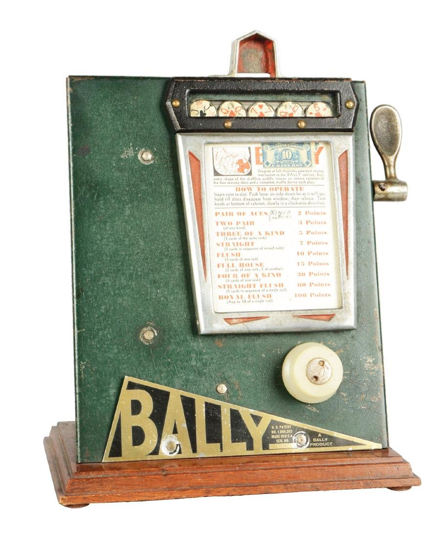 1¢ Bally Disc Trade Stimulator.